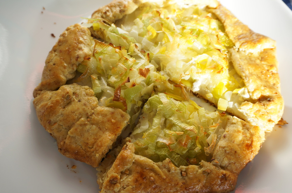 Leek and Potato Galette