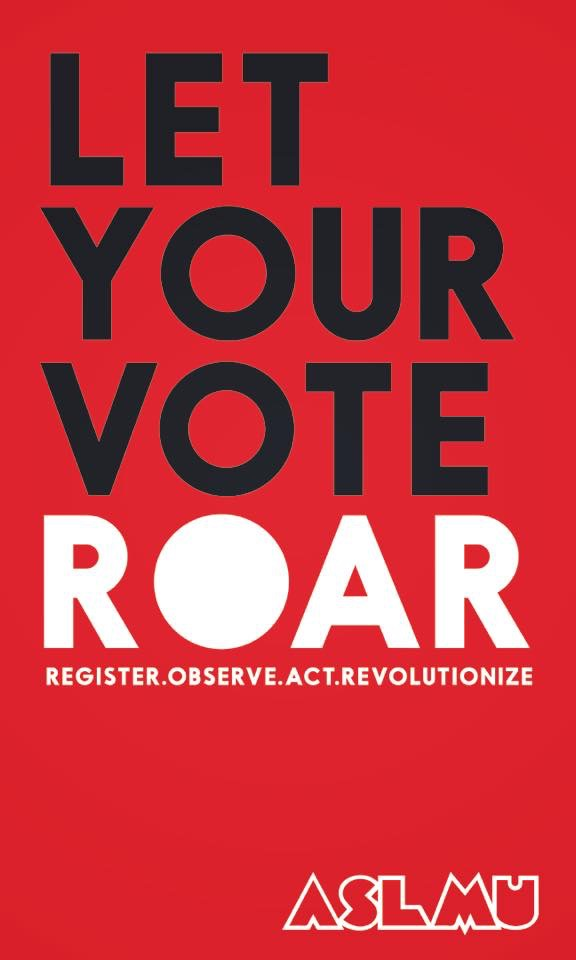 LIONS, TODAY is the final day to register to vote in California!!! Make sure to register and VOTE1 Let your votes ROAR!!!