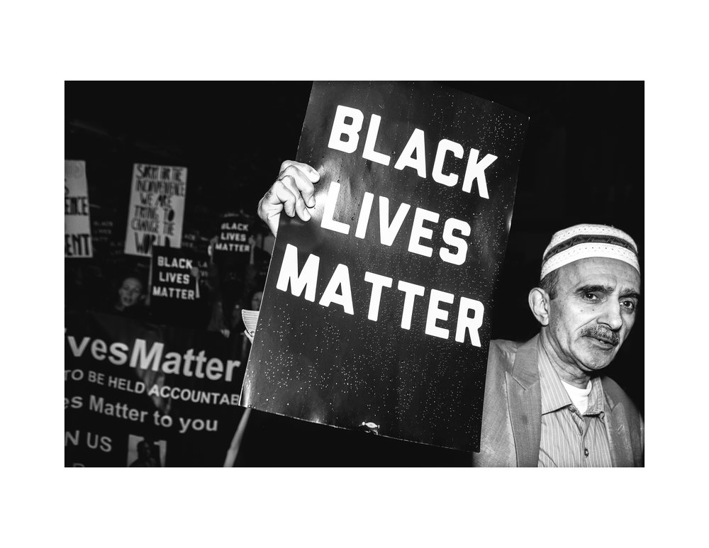 Middle Eastern American Stands Up For Black Lives