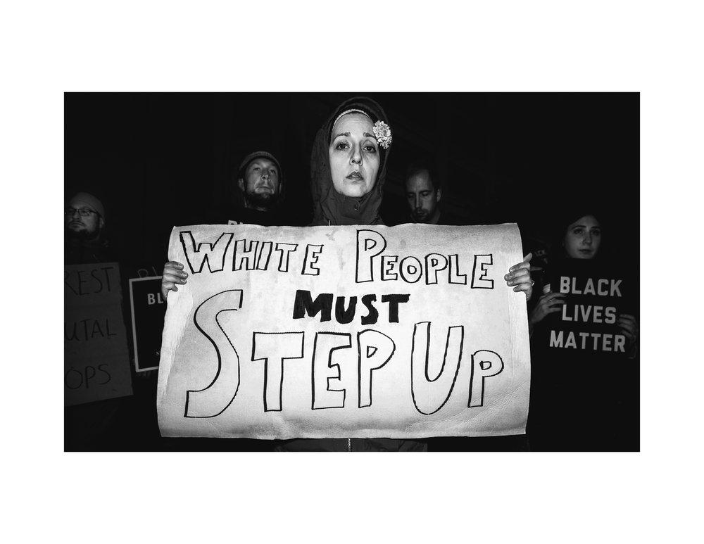 White Women Steps Up.