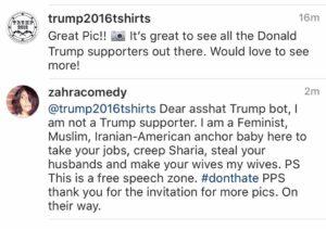 Silly Trump bot, I'm nacho friend!