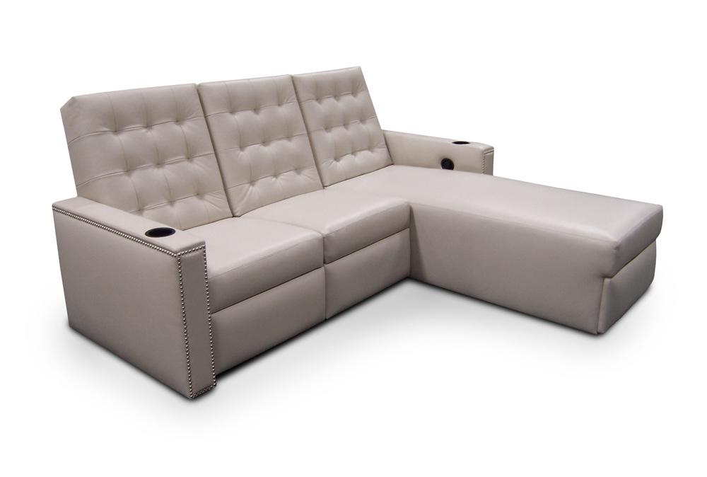 2-seat sofa w/chaise