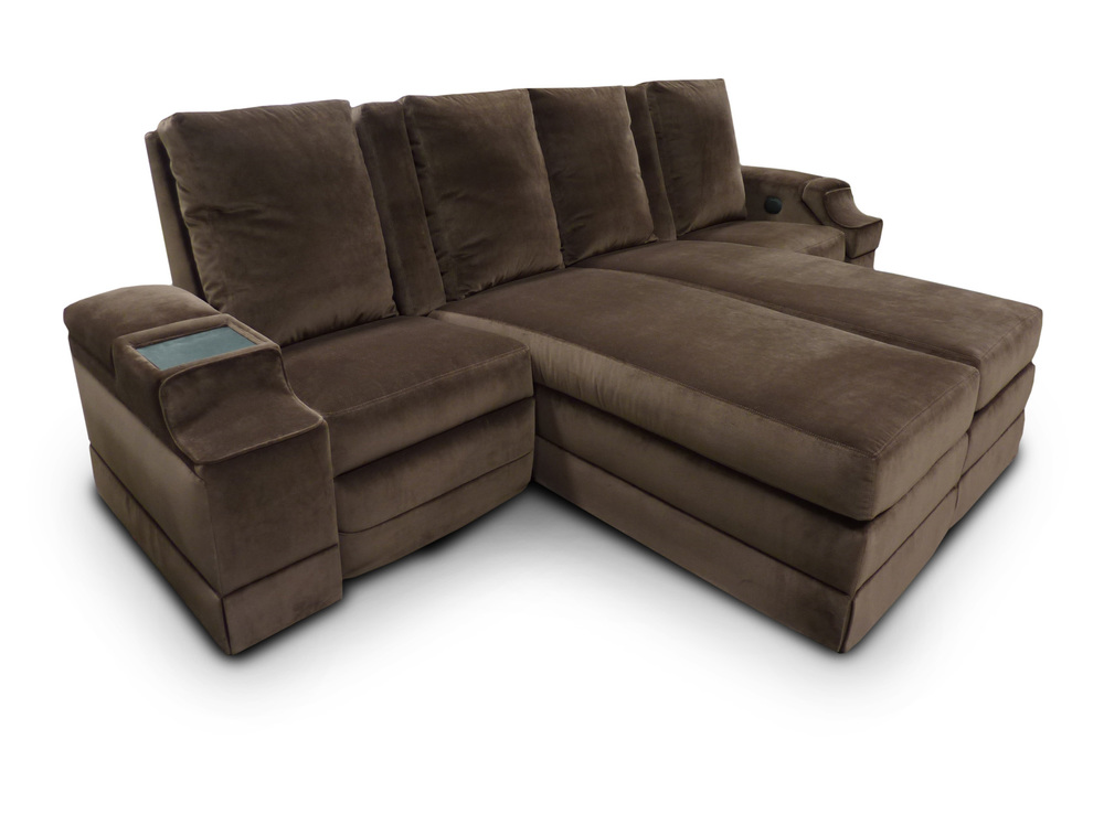 Single-Dual Lounger-Single pocket arm unit, laminate table top, retractable touch screen, motorized press back.