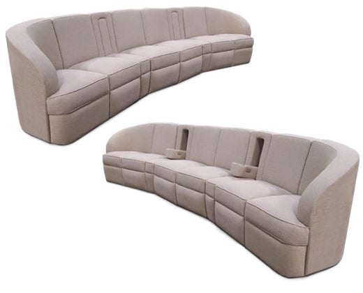 Fiona Pocket Arm Sofa;
