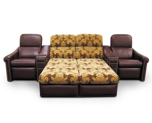 Bijou Back with El Dorado Arms; Dual Chaise