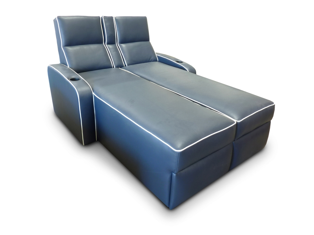 Dual Chaise; Pocket Arm; Piping