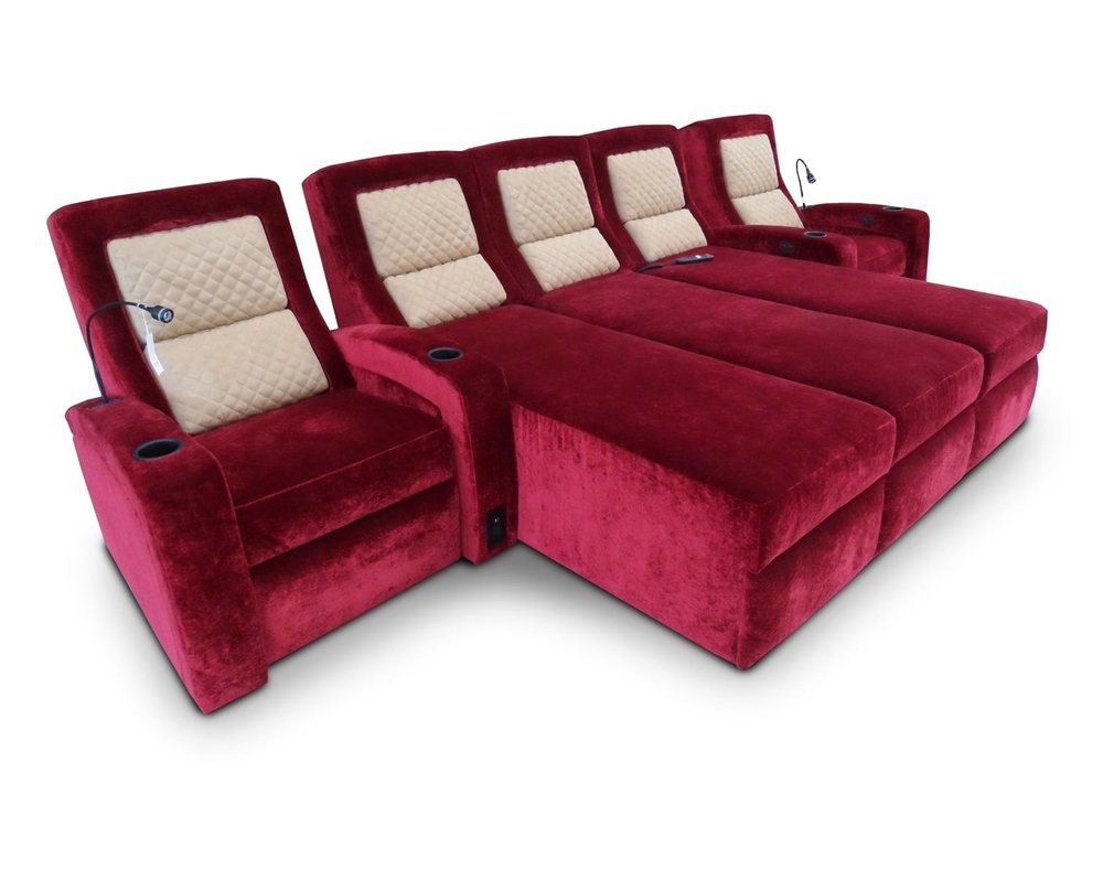 Lexington Single-Lounger Single with Diamondback quilting detail