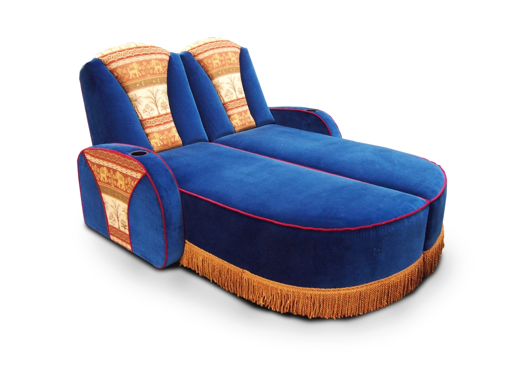 Exotic Dual Chaise Lounger