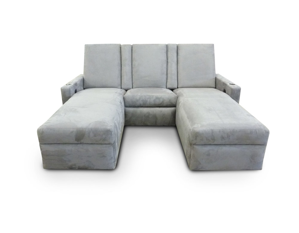 Chaise; Pocket Arms