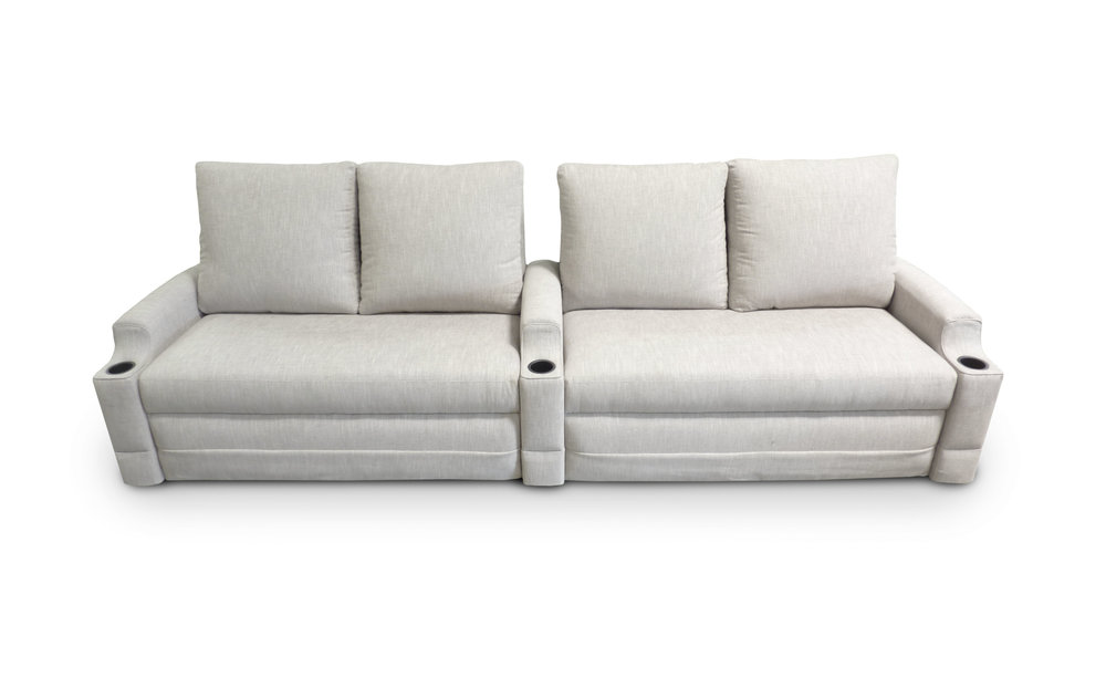 Windsor Back; Guild Arm Dual Sofa