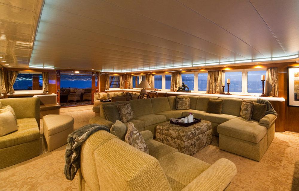 Westside installation on 174' Yacht