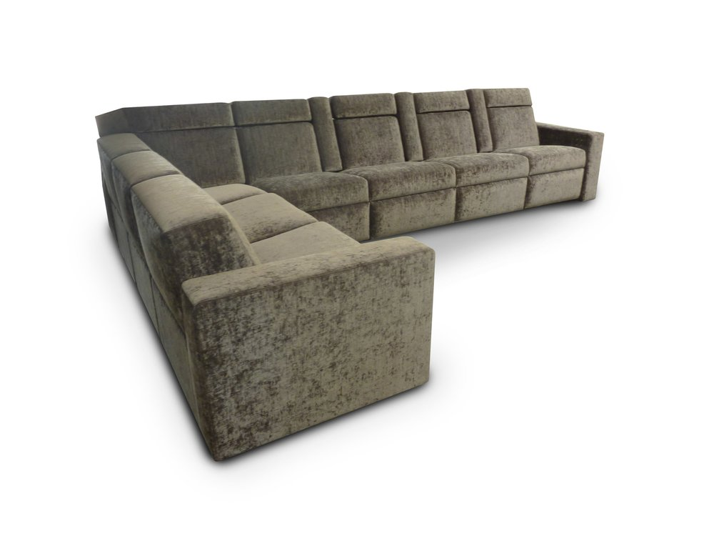 Sectional with Pocket Arms