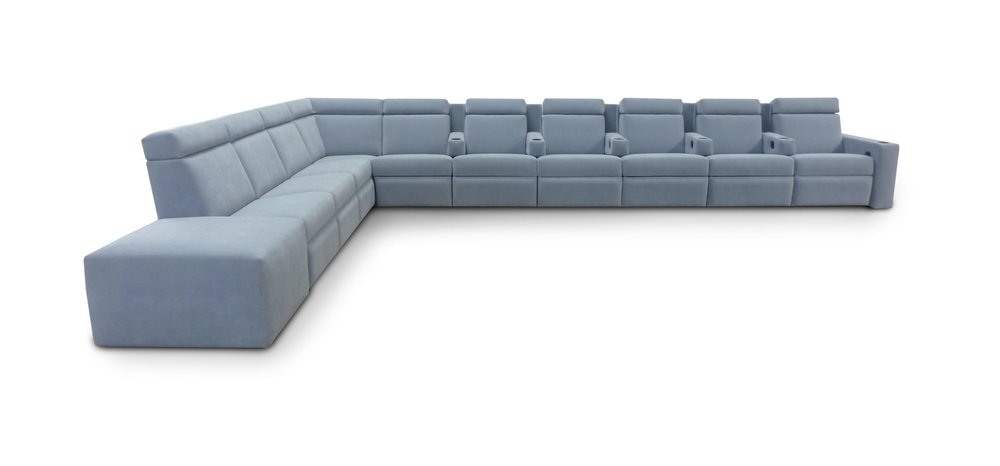 West End Pocket Arm Sectional