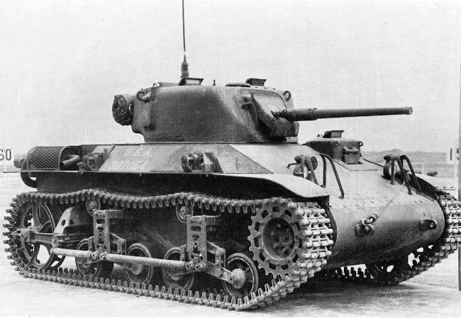 The M22 Locust, a good example of a light tank.