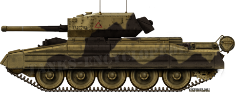 A Crusader Mk III, with 57mm cannon.