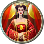 Wu Zetian player icon from Civilization V. Perhaps her greatest honor.