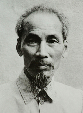Ho Chi Minh, 1946. Fresh from fighting off the Imperial Japanese.