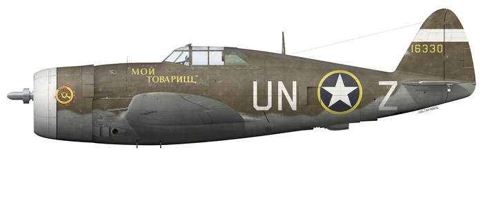 Zemke's P-47C-5. Image from http://www.gaetanmarie.com
