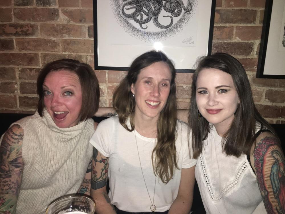 Chelsea, Saara & I
