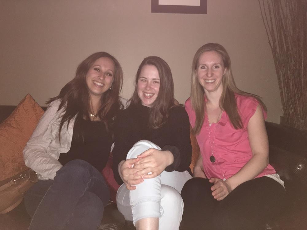 Kaitlyn S., me & Becca D.