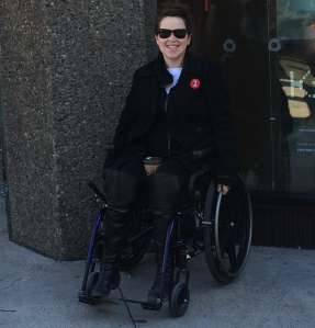 November 11, 2014: I was pregnant and unable to walk to the Remembrance Day ceremony - that didn't stop me from paying respect.