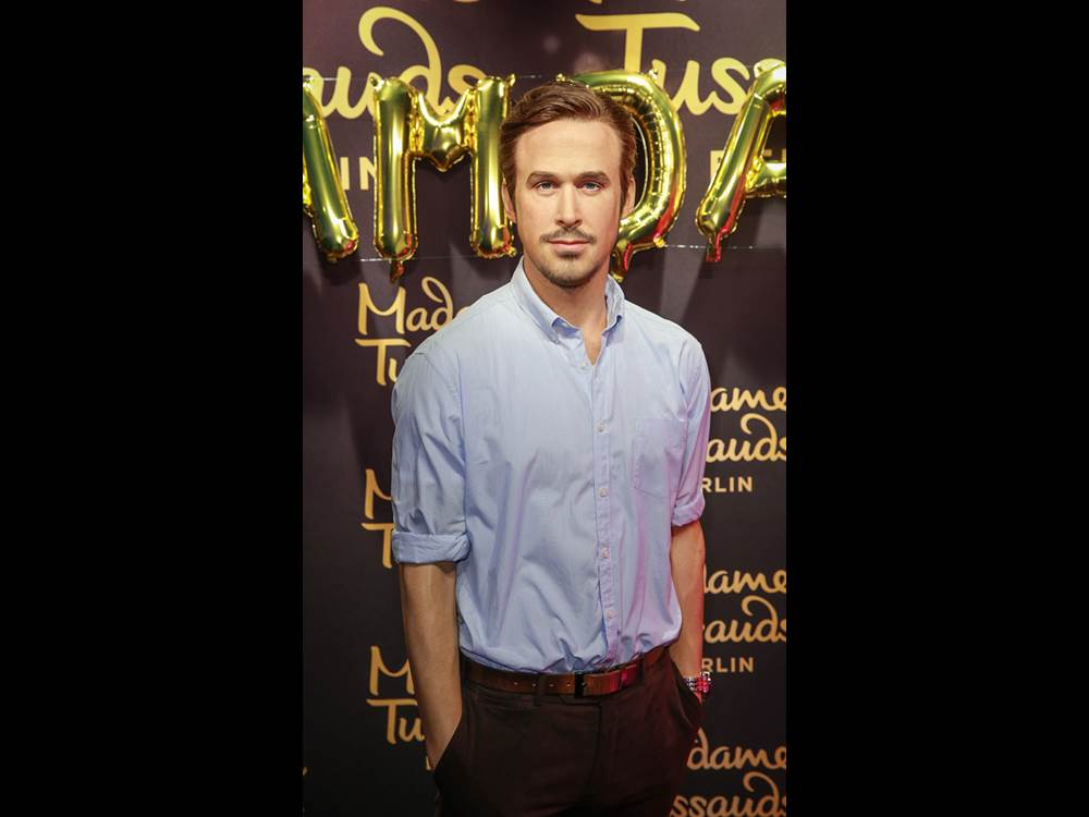 2017 is the year of Dream Dates at Madame Tussauds Berlin. Ryan Gosling's wax figure is the first of many surprises coming this year.