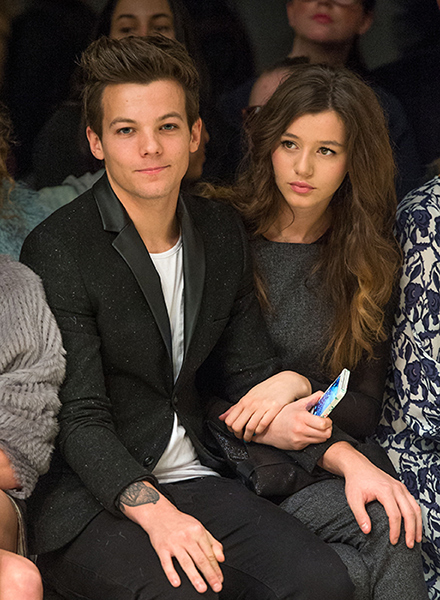 Louis Tomlinson and Eleanor Calder, HELLO Magazine, 2015