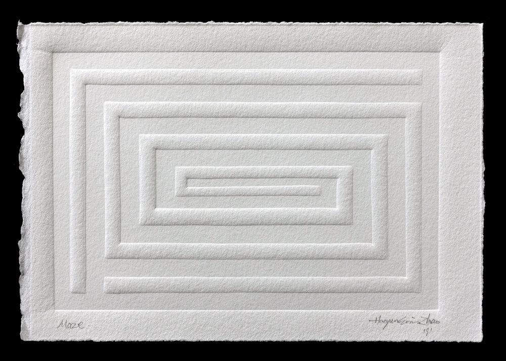 "Maze, 5""x7"""