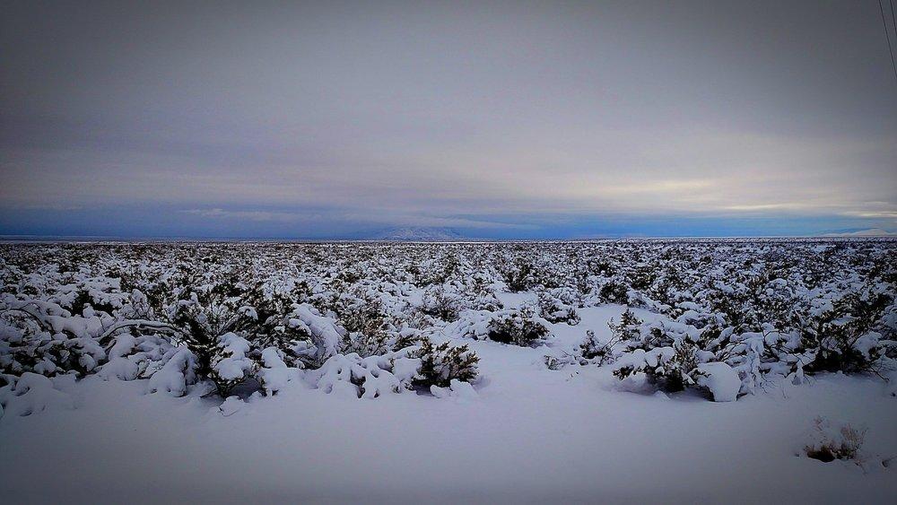 Near Fort Craig, south of Socorro, NM