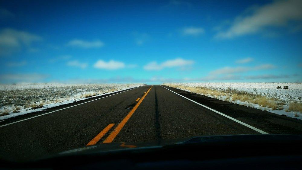 I-40 west, Arizona