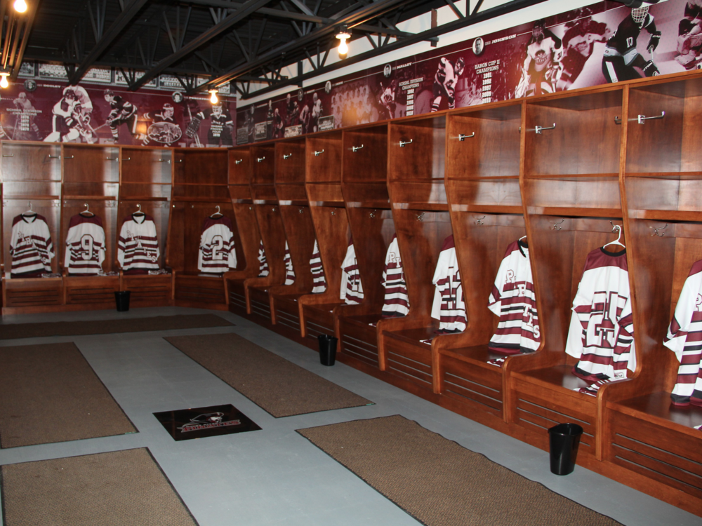 Rocky River Rec Center Hockey Locker Room