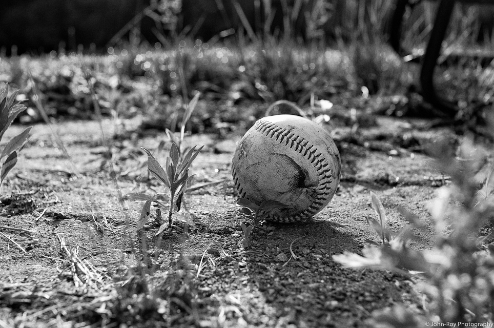 An Old Baseball