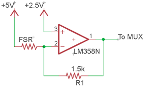 Figure 4: FSR linearization circuit.