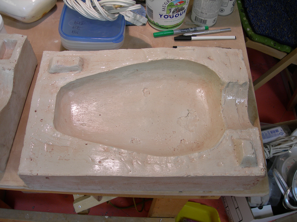 Fabricating the Fiberglass Shell
