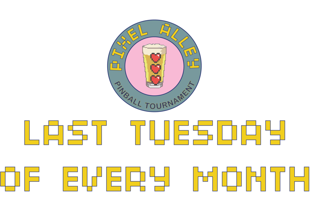 Held Monthly at Pixel Alley on the last Tuesday of every month starting from 7pm. For full scores and winners, go to Pinball Scores