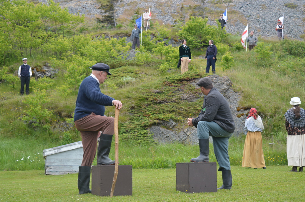 This is not Fort William.  This is a scene from the Trinity Pageant in Trinity NFLD.