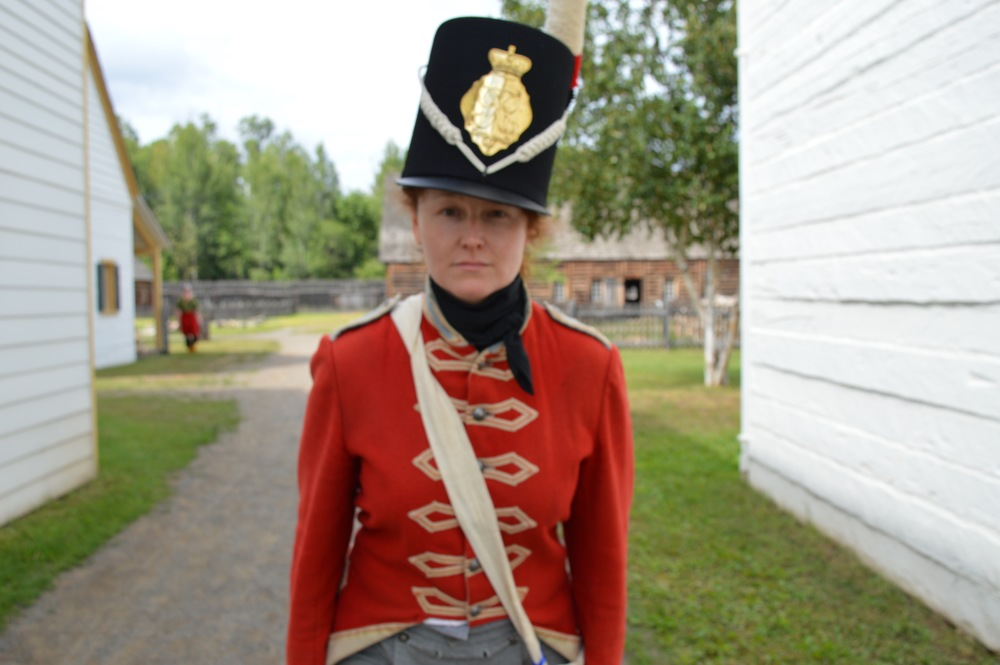 The only Lady Soldier in the Regiment
