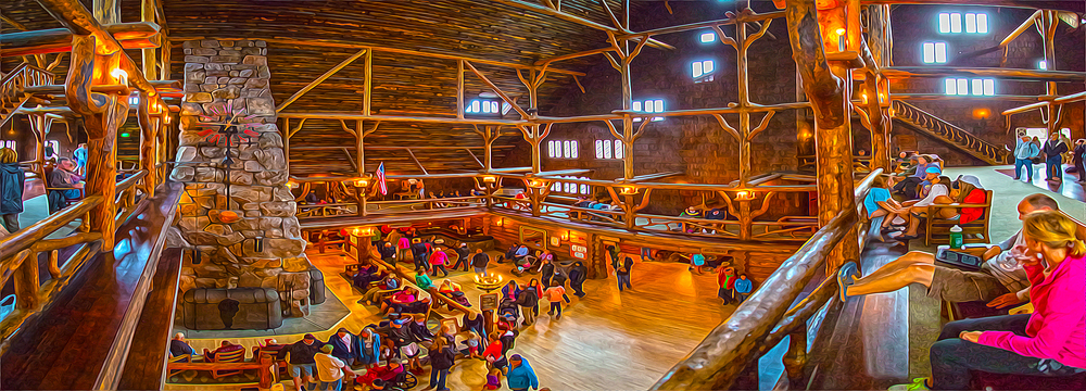 Old Faithful Inn, Yellowstone