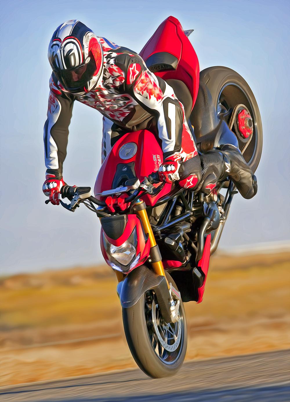 Retro SBK Ducati     Rider: Cernicky