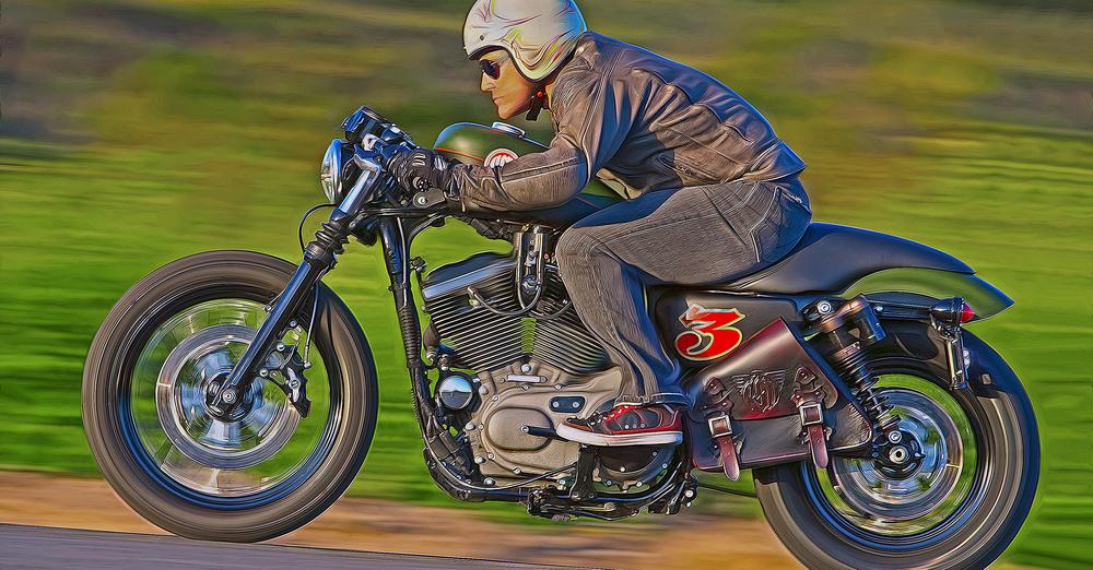 Roland Sands Custom    Rider: Cernicky