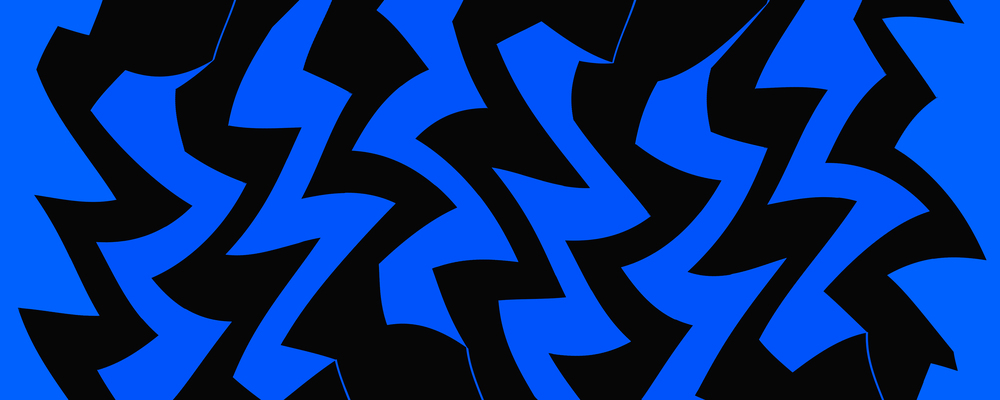 Black on Blue