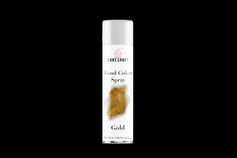 Gold Food Color Spray — Cake Craft