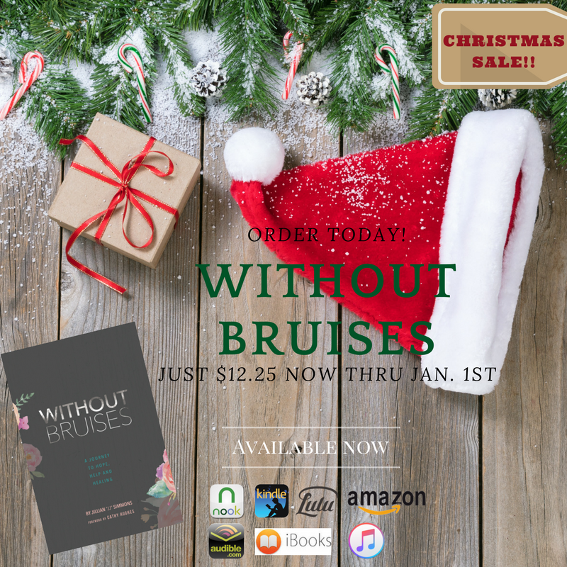 Pick up Without Bruisesfor just $12.25until Jan. 1st!.png