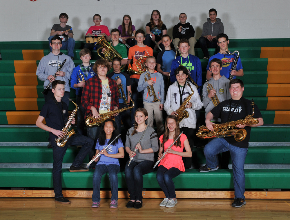 2014-15 Jr. High and High School Band