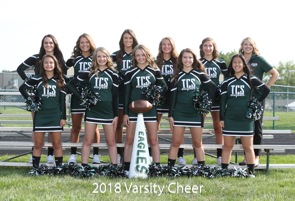 2017 Varsity Football Cheerleaders