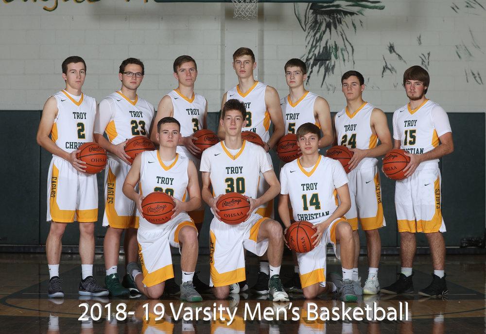 2017-18 Varsity Men's Basketball