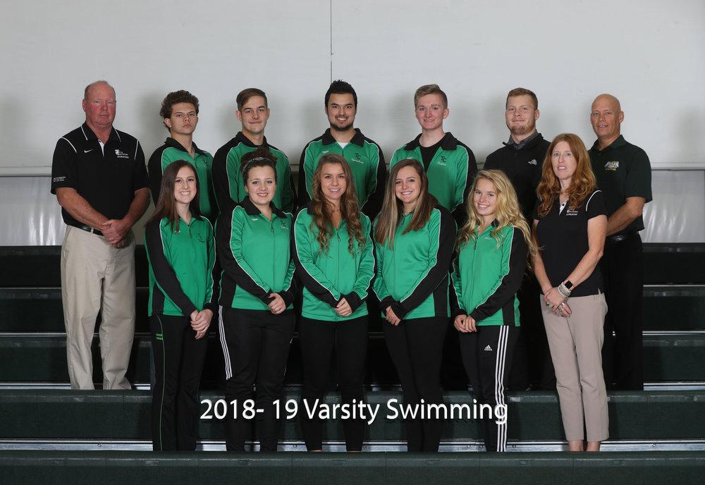 2017-18 Varsity Swimming