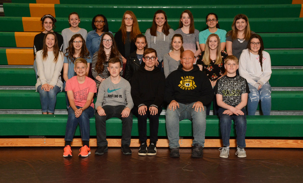 2017-18 Jr. High Choir