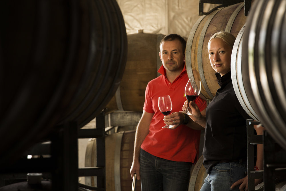 011 - Winemakers Andrew Quin and Siobhan Wigan.jpg