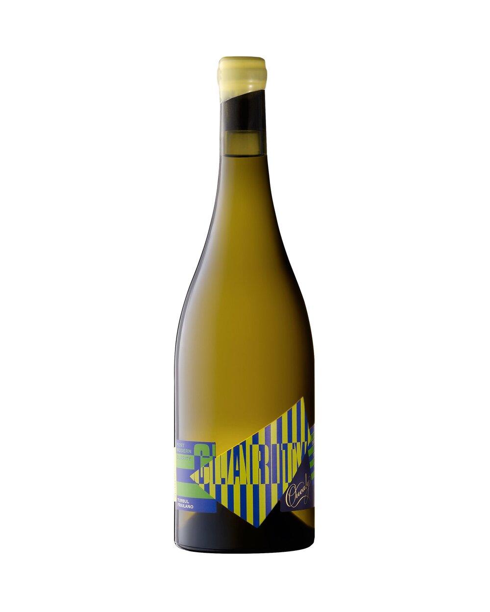 TURBUL FRIULANO   | クイーリー ポスト モダン クラリティー タバル フリウアノ   モーニングトンペンニンシュラバルナリング ¥3,800 2015,750ml, 12.6%  モダンなナチュラルワイン方法、スキンコンタクトしたワインは、熟成させるため樽とアンフォラに入れられます。大胆にも全く濾過されることなくボトリングされます。滑らかでクリーミーな口当たり、アーモンドミルクとエキゾチックなアンゼリカの花、はちみつ、軽やかな胡椒、パセリの根、レモンピールの香り。フリウラーノは、キュアリーワイナリーが先駆けとして植えたイタリアの品種です。艶があり皮が厚く、力強い酸が豊富な凝縮したブドウを生むために、開花の前になるべく収穫量を抑えるように整えます。これがブドウ畑でのワイン造りです。 フリウラーノは塩漬け肉、生魚、クリームパスタと良く合います.   詳しく    Review   Modern natural wine of extended fermentation on skins, then into barrel and amphora to mature. Turbul is bottled without any clarification. Sleek creamy palate, almond milk & filled with the exotic aromatics of angelica blossom, honey, bright pepper spice, parsley root, lemon rind. Friulano is an Italian grape variety pioneered by Quealy at their winery property. They concentrate the high yield potential by setting a low crop before flowering, assuring acid rich grapes with thick burnished skins. This is winemaking in the vineyard. Friulano is served with cured meats, raw fish, creamy pasta.  In contrast to Peninsula Pinots, Friulano produces a big bunch of big berries. This attribute requires strategic bud selection, shoot selection (in spring and summer) and fruit selection of wholesome berries and bunches.  Handpicked on March 17th in 2015 at 11.8 Baume from Quealy's Winery Vineyard, de-stemmed and fermented as cool whole berries. The fermentation was slow and wild over a 14-day period to extract the perfume and phenolics from the skins. The ferment was then bucketed into the basket press to drain. The ferment settled in tank for another day before racking into large format barrels where the last grams of sugar expired, and a malolactic fermentation proceeded through the winter.  Bottled at the winery under cork in February 2016. The cork carries on the gentle oxidation of phenolics. The tannin in the wine due to time on skins allows the wine to be protein stable thus as in red wine no bentonite fining required. Turbul is Friuli dialect for cloudy, a name suggested b